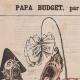 DÉTAILS 01 | Caricature Politique - 1877 - Finance - Papa Budget