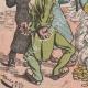 DÉTAILS 05 | Caricature Politique - 1877 - Finance - Papa Budget