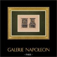 Dekorativ Konst - Inredning - Spiselkrans (Le Pautre)
