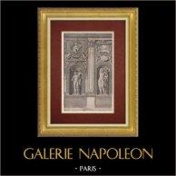Palazzo Farnese - Galleria Farnese - Tabula II. (Annibale Carracci)