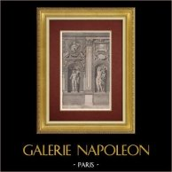 Palazzo Farnese - Galerie Farnese - Tabula II. (Annibale Carracci)