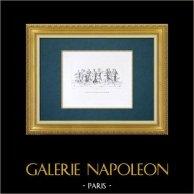 Galleria Palatina - Florence - Dance of Apollo with the Muses (Giulio Romano)