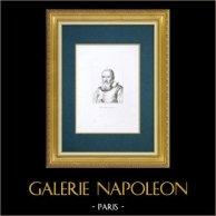 Uffizierna - Florens - Porträtt av Galileo Galilei (Justus Sustermans)