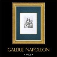 Galleria Palatina - Florens - Porträtt av Vittoria della Rovere (Sustermans)