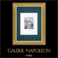 Galleria Palatina - Florens - Heliga Familjen - Vittoria della Rovere - Cosimo III (Sustermans)