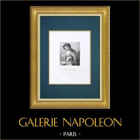 Galleria Palatina - Florence - Portret van a Cook (Giovanni da san Giovanni) |