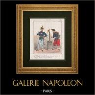 Caricatura del Prussiano - 1864 - Guerra dei Ducati - Colonna Vendôme - Abbiamo anche la nostra colonna!