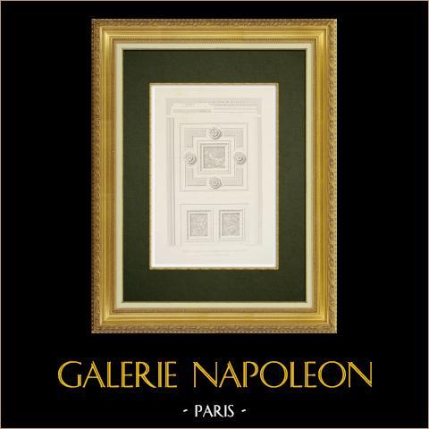 Château du Pailly - Gaspard de Saulx-Tavannes - Haute-Marne (France) | Gravure originale en taille-douce sur acier dessinée par Sauvestre, gravée par Sulpis. 1863
