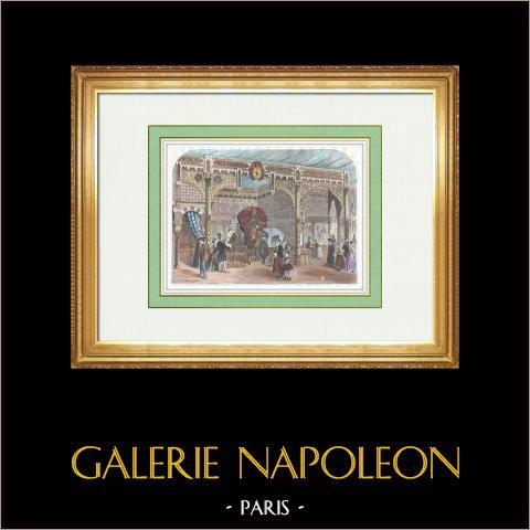 Producten uit Tunesië - Bardo - Paleis van Bey van Tunis - Champ-de-mars - Parijs Wereldtentoonstelling 1867 |