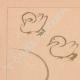 DÉTAILS 01 | Art Japonais - Esquisse - Oie - Canard (Kitao Massayoshi)