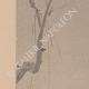 DÉTAILS 02   Art Japonais - Kakemono - Peinture - Oiseau (Sesson Shukei)