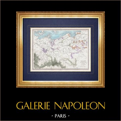 Geografia Wojskowa - Mapa - Kampanie 1806-1807 i 1813 - Napoleon i |