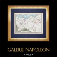 Military Geography - Map - Campaigns 1806-1807 and 1813 - Napoleon I
