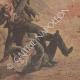 DÉTAILS 05   Attentat d'Aniche - Mort de l'assassin - France - 1895