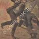 DÉTAILS 06   Attentat d'Aniche - Mort de l'assassin - France - 1895