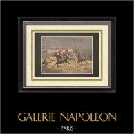 Pintura - Général Macard - Eugène Chaperon - Salon Champs-Elysées 1895