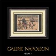 Pintura - Chaque âge a ses plaisirs - Paul Chocarne-Moreau - Salon 1895
