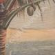 DÉTAILS 06   Guerre hispano-américaine - Surveillance dans un cocotier - 19ème Siècle