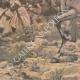 DÉTAILS 05 | Peinture - Menelik II à la bataille d'Adoua - Ethiopie - Paul Buffet - Salon de 1898