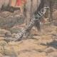 DÉTAILS 06 | Peinture - Menelik II à la bataille d'Adoua - Ethiopie - Paul Buffet - Salon de 1898