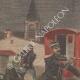 DÉTAILS 01 | Arrestation de voleurs d'enfants - 19ème Siècle