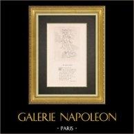 Divine Comedy - Dante - The Paradise - Canto XVIII - Heaven of Jupiter - Celestial spirits