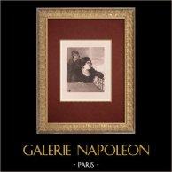 Moulin Rouge - Kabaré i Paris - Montmartre - Années Folles - Nana La Cascadeuse