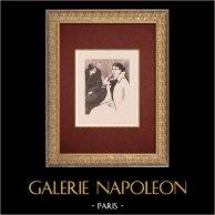 Moulin Rouge - Kabarett im Paris - Montmartre - Années Folles - Der Patron - La Patronne
