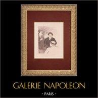 Moulin Rouge - Cabaret Parisien - Montmartre - Années Folles - Ernest et ses amis