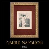 Moulin Rouge - Kabarett im Paris - Montmartre - Années Folles - Bei der Arbeit