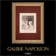 Moulin Rouge - Cabaret Parisien - Montmartre - Années Folles - Les Deux Amies
