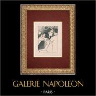 Moulin Rouge - Cabaret Parisien - Montmartre - Années Folles - L'Apéritif