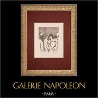 Moulin Rouge - Cabaret Parisien - Montmartre - Années Folles - Hésitation