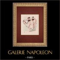 Moulin Rouge - Cabaret Parisien - Montmartre - Années Folles - Quadrilleuses