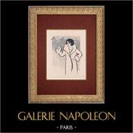 Moulin Rouge - Cabaret Parisien - Montmartre - Années Folles - La Mome Haricot