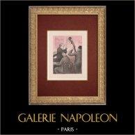 Moulin Rouge - Cabaret a Parigi - Montmartre - Années Folles - il Valzer
