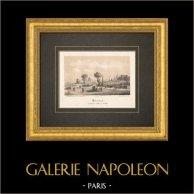 Parc de Bagatelle - Bois de Boulogne - Ile de France - 19th Century