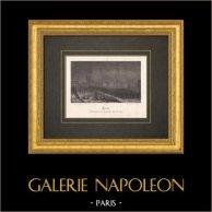 Evacuação - Avron - Ilha de França - Sitio de Paris (1870)