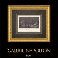 Canteras de yeso de Neuilly-Plaisance - Isla de Francia - Siglo 19 | Litografía original litografiado por Grandjean & Gascard. 1871