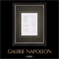 Dessin d'Architecte - Musée du Louvre - Salle des Cariatides - Jean Goujon - XVIème Siècle   Gravure originale en taille-douce sur acier dessinée par Leblan, gravée par Hibon. 1855