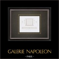 Dibujo de Arquitecto - Paris - Pisos de Hierro - Thuasne
