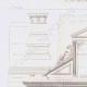 DETAILS 01 | Architect's Drawing - Church of Cergy - Portal - Île-de-France (A. Leblan)