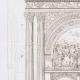 DETAILS 02 | Architect's Drawing - Church of Cergy - Portal - Île-de-France (A. Leblan)