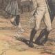DÉTAILS 05   Scandale d'Otsu - Tentative d'assassinat du tsarévitch Nicolas Alexandrovitch - 1891