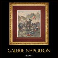 Mort du colonel de Maleville - Bataille de Solferino (1859)