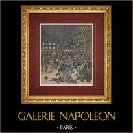 Show - Place de l'Opéra - Paris - Lohengrin - Riot - 19th Century