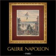Espectáculo - Pays de l'Or - Cataratas del Niágara - Théâtre de la Gaîté - Paris - Siglo 19