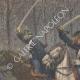 DÉTAILS 02   Emeutes en Allemagne - La Cavalerie - Guillaume II d'Allemagne - 19ème Siècle