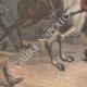 DÉTAILS 04   Emeutes en Allemagne - La Cavalerie - Guillaume II d'Allemagne - 19ème Siècle