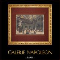 Sculpture exhibition in Palais de l'Industrie - Paris - 19th Century